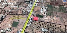 ارض للبيع مساحتها 1600 متر  المكان الطريق بين السوني و قصر بن عشير