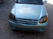 Blue Hyundai Accent 2004 for sale