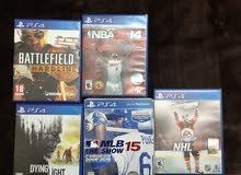 PS4  ألعاب بليستيشن 4