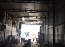 مخزن او محل كبير جملون 180 متر تجاري للايجار.