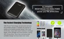 ALLPOWERS Portable Charger 30000mAh External Battery Charger Pack with Dual Input Port
