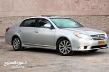 For sale 2011 Silver Avalon
