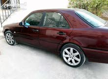 Maroon Mercedes Benz C 200 1998 for sale