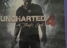 Uncharted 4 // Horizon Dawn للبيع ب5 او للبدل!!