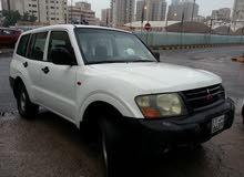 سياره باجيرو 2002 نظيفه جدا جير ماكينه شاصيه مكيف ثلج جام مانول السعر 600 دينار