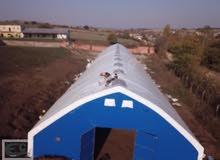 10x100 مأوى للماشية - الأبقار - 1000 متر مربع من EKİNDİN.