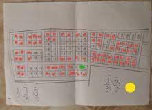 مخطط حي البساتين السكني مساحة القطع 500 متر الضهير