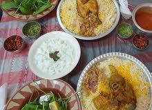 طباخ مأكولات عمانية وخليجية الخ