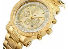 ساعة نسائية ذهبية