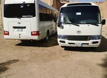 باص كوستر 30راكب مع سائق خدمات توصيل المؤظفين شركات والمؤسسات توصيل عمال