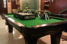 طاولة بول بلياردو 8 قدم موديل العزازي بجميع اكسسواراتها