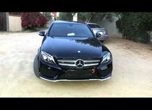 Black Mercedes Benz C200 Coupe 2016 for sale