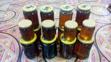 يوجد عسل طبيعي 100% عسل أزهار وعسل جبلي