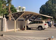 مظلات سيارات  car park shades