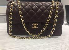 Chanel Clasic Medium bag in Burgundy