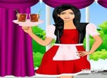 مطلوب سيدة عاملة بوفية الشاى والقهوة لشركة بحولى شارع تونس جنسية عربية