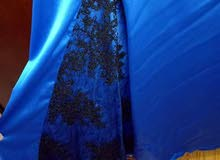 فستان ازرق سواريه