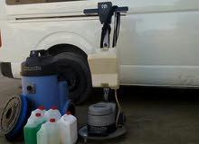 شركه صقور الخليج لتنظيف الفلل والشقق تنظيف شامل بالمكائن والمواد التمكل