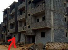 شقة نص تشطيب مساختها 170 متر مربع في صلاح الدين