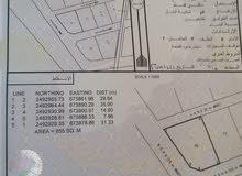 ارض للبيع 855م في ولاية القابل