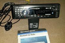 مطلوب وجه مسجل سيارة ماركة SilverCrest  KH 2377 Car Stereo System