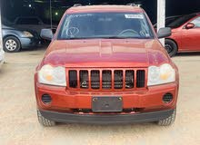 Automatic Maroon Jeep 2008 for sale