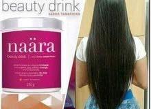 مشروب نارا كولاجين. لاول مره المنتج الامريكى USA  لذيادة كثافة الشعر