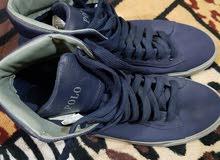 حذاء بوت ماركة بولو اصلي بالة جديد قياس 43