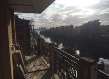 شقة 220 متر بمصر تطل علي النيل للبيع