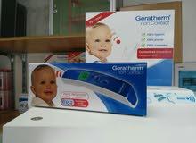 جهاز فحص حرارة الكتروني الماني Gerathermعن طريق للجبين