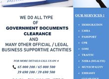 GOVERNMENT DOCUMENT CLEARANCE