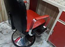 كرسي حلاقة للبيع مستعمل
