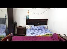 full bedroom set ( kingsize bed, side table, dresser and 5 door wardrobe)