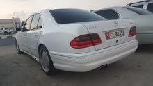 مرسيدس E55 موديل 2001