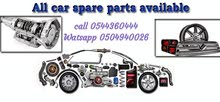 used engine gear body spare parts available and buy scrap cars!!!