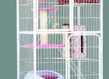 OFFER/Limited Stock/Cat villa for sale/Mobile/3 Floors/Cage