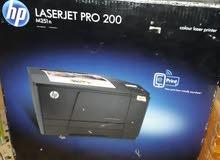 طابعة كبيرة ليزرية ملونة HP laserjet pro 200