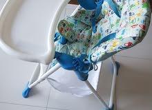 Infant eating chair for sale_كرسي طعام لحديثي الولادة للبيع