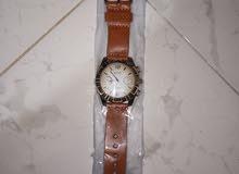 فرصة عرض ساعة + حزام جلد + محفظة جلد كبيرة + محفظة جلد صغيرة