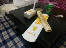 خبز تورتيلا للشاورما
