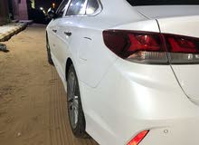 White Hyundai Sonata 2019 for sale