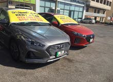 Automatic Hyundai 2019 for rent - Amman