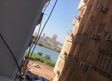 شقة ناصية مميزة للبيع بشارع سعد زغلول الرئيسي الرئيسى 126 م