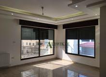 شقة طابق اول للبيع في منطقة ضاحية الرشيد مساحة البناء 175 م