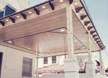 الهندسية للقرميد والديكورات الخشبية والحداده