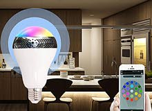 HIGH QUALITY WIRELESS MUSIC BULB (amazing music sound brought you joyful taste)