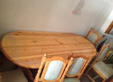 طاولة منزل نظيفه جدا لم تستعمل جديييييد
