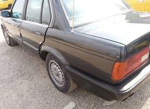 Automatic Black BMW 1989 for sale