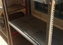 s/steel   shelves