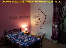 amazing rooms and bedspaces for ladies only
